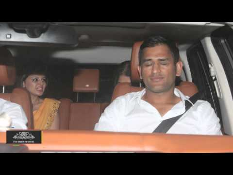 Dad's the Way: Baby Girl for Captain Cool MS Dhoni - TOI