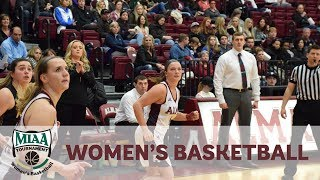 NCAA Division III Women's Basketball - MIAA Tournament First Round: Alma College vs. Calvin College