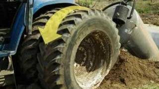 Farmer crushed under tractor's tires