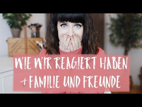 REAKTIONEN AUF MEINE SCHWANGERSCHAFT I FREUNDFRITZ, FAMILIE UND FREUNDE