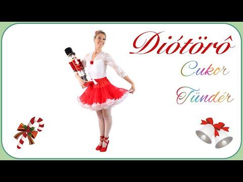 A DIÓTÖRŐ ~ CukorTündèr Tánc Gyerekeknek | Csajkovszkij Diótörő Mesebalett | Karácsonyi Balett Zene