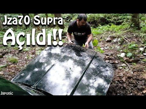 Dağdaki Supra'yı bu sefer AÇTIM! Çift Turbolu hangi motor var? | Japonic