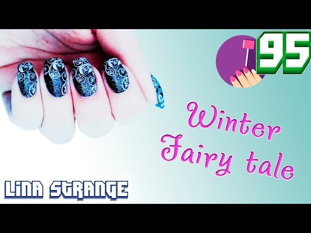 Маникюр со стемпингом: Выпуск #95 - Winter Fairy tale