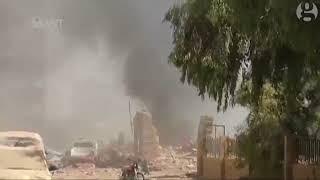 syria - live bombing terrorism by basar al asad