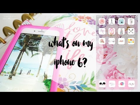 What's on my iPhone 6 Tag! (how I edit my IG photos) | Charmaine Dulak