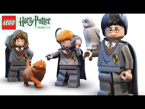 Lego Harry Potter: Years 1-4 - Part 2 (walkthrough, Commentary) video