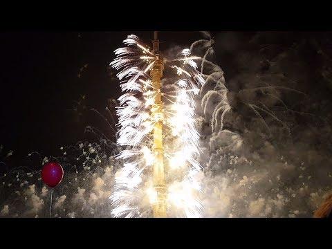 Круг Света 2017 в Останкино: салютует Останкинская башня, открытие фестиваля 23.09.2017