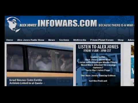 Paul Watson Breaks Down BP Oil Spill as A False Flage Event on Alex Jones Tv 3 4