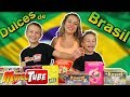 Dulces Brasileños 🍭 Probamos gummys de Brasil 🍬