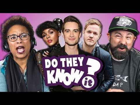 DO PARENTS KNOW MODERN MUSIC? #16 (REACT: Do They Know It?)