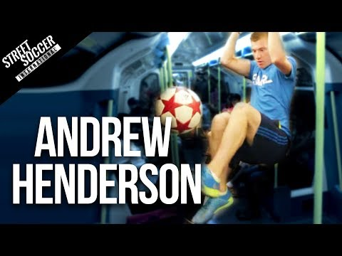 Insane Football Skills - World Freestyle Champion Andrew Henderson video