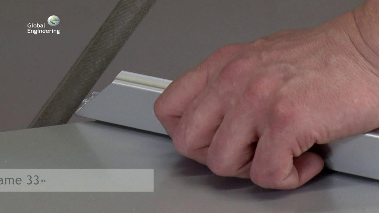 Алюминевая рама своими руками