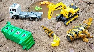 Assembly Dump Truck Excavator Crocodile Toys for Children | Crane Truck Mcqueen Cars Toy by TOTOTV