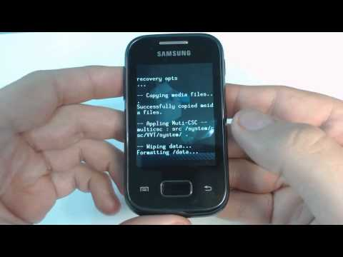 Samsung Galaxy Pocket S5300 hard reset