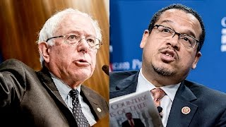 Bernie Sanders and Rep. Ellison Lead Fight For $15 Minimum Wage