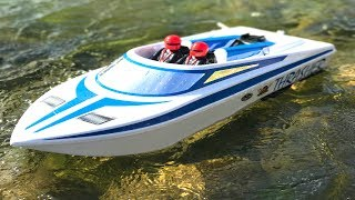 STREAMLiNE RC - THRASHER JET BOAT - DAM, the CHALLENGE! | RC ADVENTURES