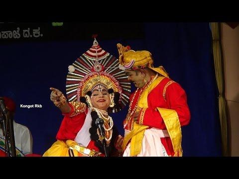 Yakshagana -- Bheeshma Prathijne - 4 - Kannimane Ganapathi Bhat As Devavrtha video