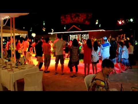 Gala dinner and countdown party at Plantation Bay Resort &amp; Spa (year 2013 Cebu Mactan) Part.1