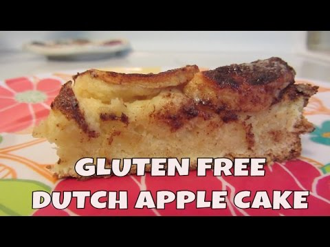 Dutch Apple Cake ~ Gluten Free