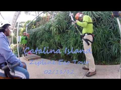 Catalina Island Zipline Eco Tour (GoPro HD2 )