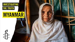 Video: Living in Myanmar as an elderly Rohingya - Amnesty