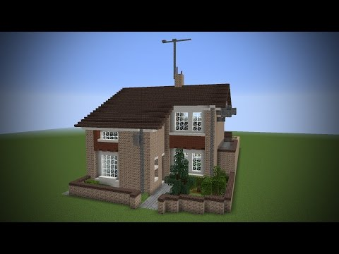 BUILDING MY REAL HOUSE IN MINECRAFT!