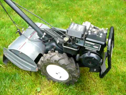 Craftsman 14 5 hp rear tine tiller