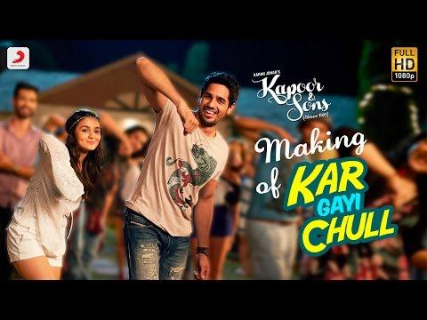Making Of Kar Gayi Chull – Kapoor & Sons | Sidharth | Alia | Badshah | Amaal Mallik | Fazilpuria
