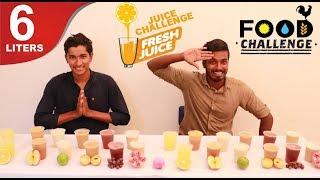 6 Liters Mixed Fruit Juice Challenge   Eating Challenge   Food Challenge Tamil   Episode 5