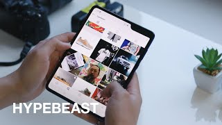 HYPEBEAST Puts Samsung Galaxy Fold to the Test