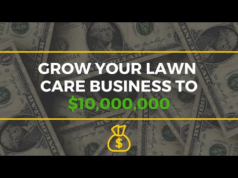 What It Takes To Grow a Lawn Care Business to 8 Figures Per Year
