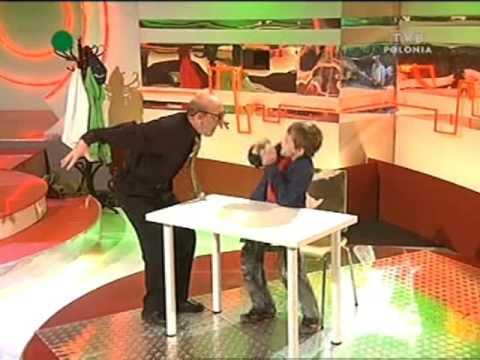 """Julian Tuwim - """"Lokomotywa"""" - Artur Barciś i Piotr Kramer czyli """"Duże Dziecko"""""""