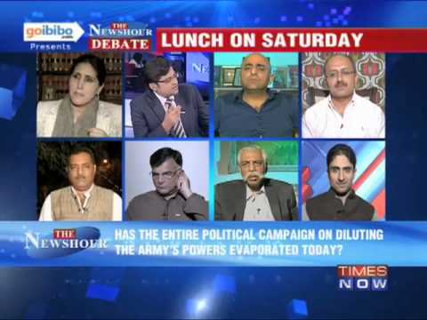 The Newshour Debate: How would India react to Pakistan's hand in terrorism? (Part 1 of 3)