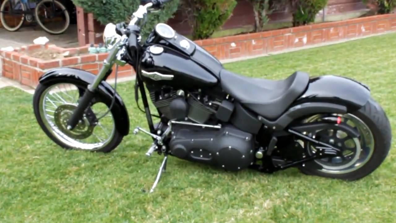 All Black Harley Davidson Night Train
