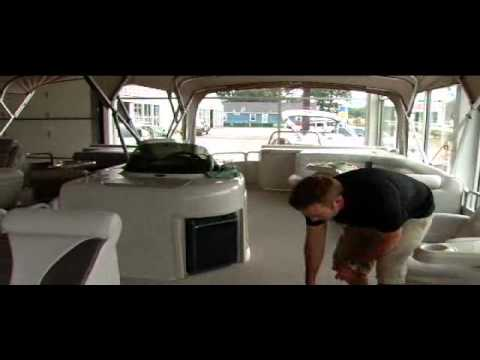 Premier Pontoon Boats Spy Guy Video