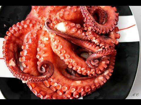 ак приготовить осьминога - видео