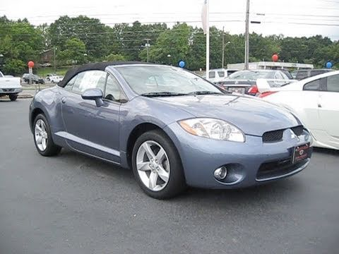 2007 Mitsubishi Eclipse Spyder Start Up, Exhaust, and In Depth Tour