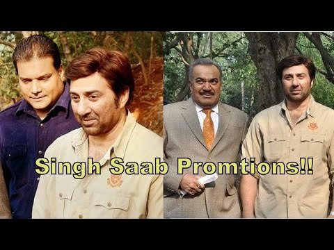 Sunny Deol Snapped Shooting On The Sets Of Sony Tv Show Cid & Talks About His Experience video