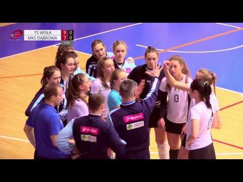 MKS Dąbrowa Górnicza – Wisła Kraków (turniej ćwierćfinałowy MP Juniorek W Siatkówce)