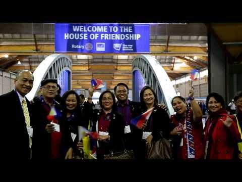 Rotary International Convention 2014 - Sydney blitzes Rotary forecasts