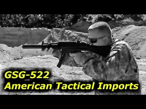GSG-522 from ATI - American Tactical Imports: Great Quality. Fun and Cheap To Shoot