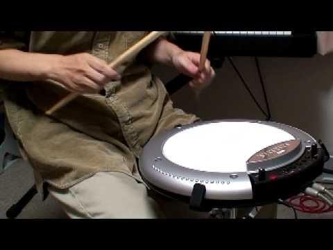 KORG WAVEDRUM WD-X demo using live looping