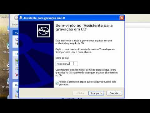 Como gravar ISO no CD com WinRAR - HD