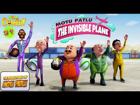 Motu Patlu | Invisible plane | MOVIE | Animated movies for kids | WowKidz Comedy thumbnail