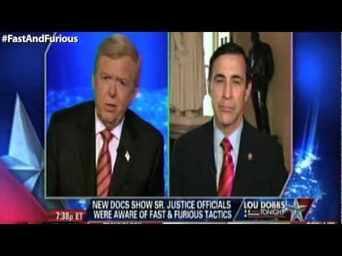 Issa on Fox Biz: Getting to Fast & Furious Truth, Exposing Obama's 'Green Jobs' Fiction