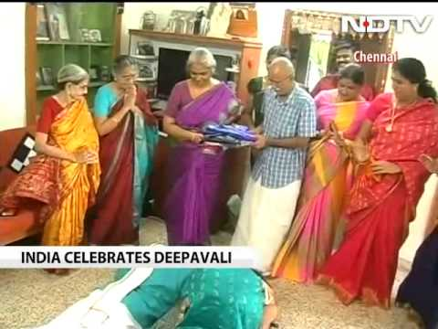 Diwali celebrations in South India
