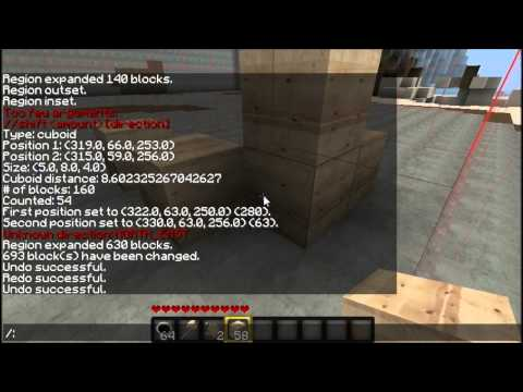 Minecraft - WorldEdit Tutorial [Deutsch] [HD]