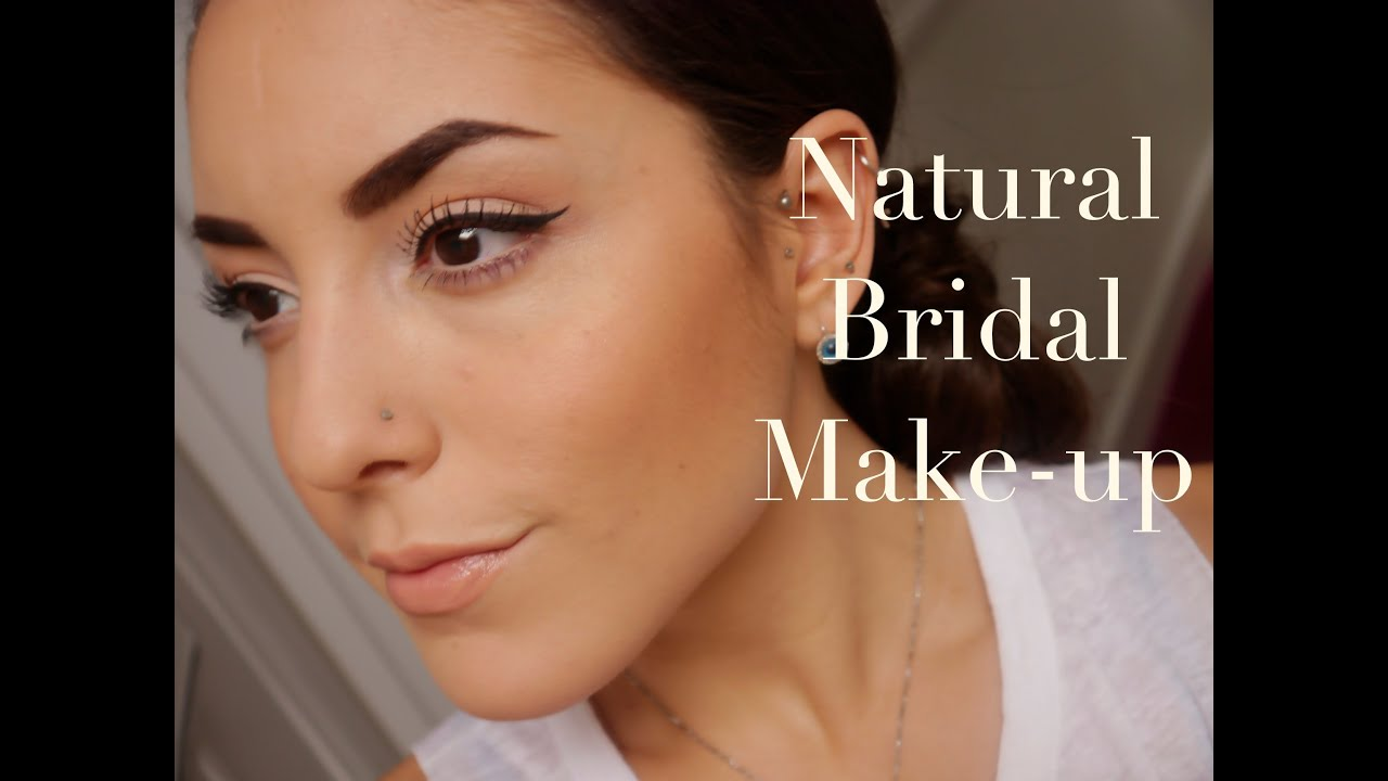 my Natural Bride Make-up