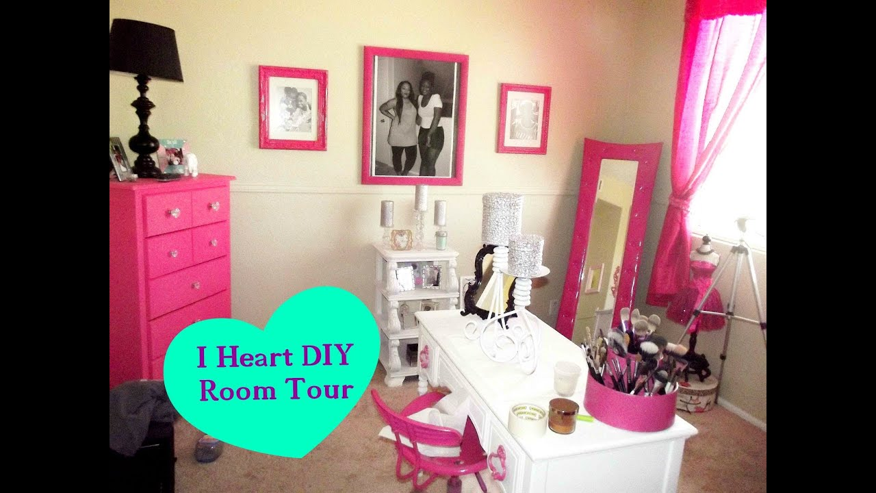 Official Diy Makeup Room Tour Amp How To Youtube