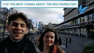 Three of the best things about the master marketing